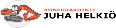Koneurakointi Juha Helkiö
